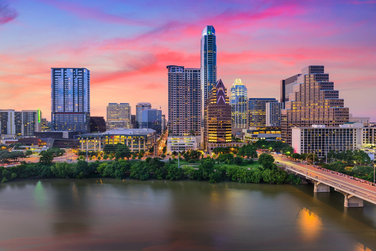 Austin Texas Skyline Marketing