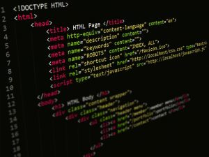 HTML Coding on a Website with a Script Editor in Austin Texas 300x225 - Austin Web Design Company