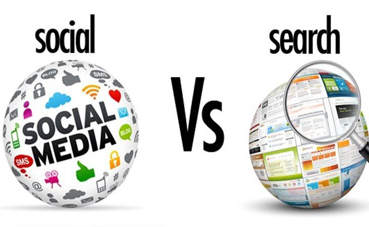 Search vs Social Media - Search Trumps Social in 2017