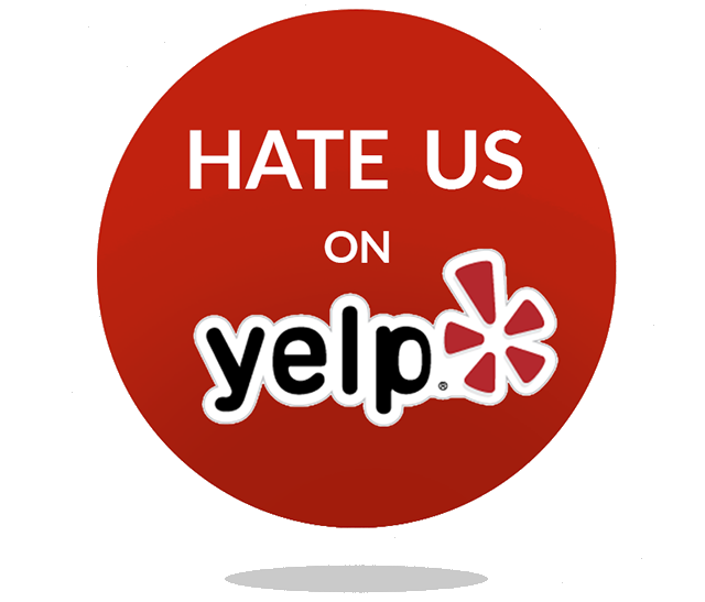 Hate us on Yelp an Anti Yelp Campaign - Businesses are Going Anti-Yelp and It's Working