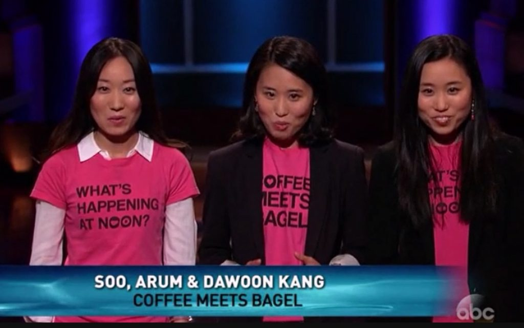 Shark Tank Coffee Meets Bagel Kang sisters 1024x640 - Coffee Meets Bagel: Shark Tank Updates in 2020