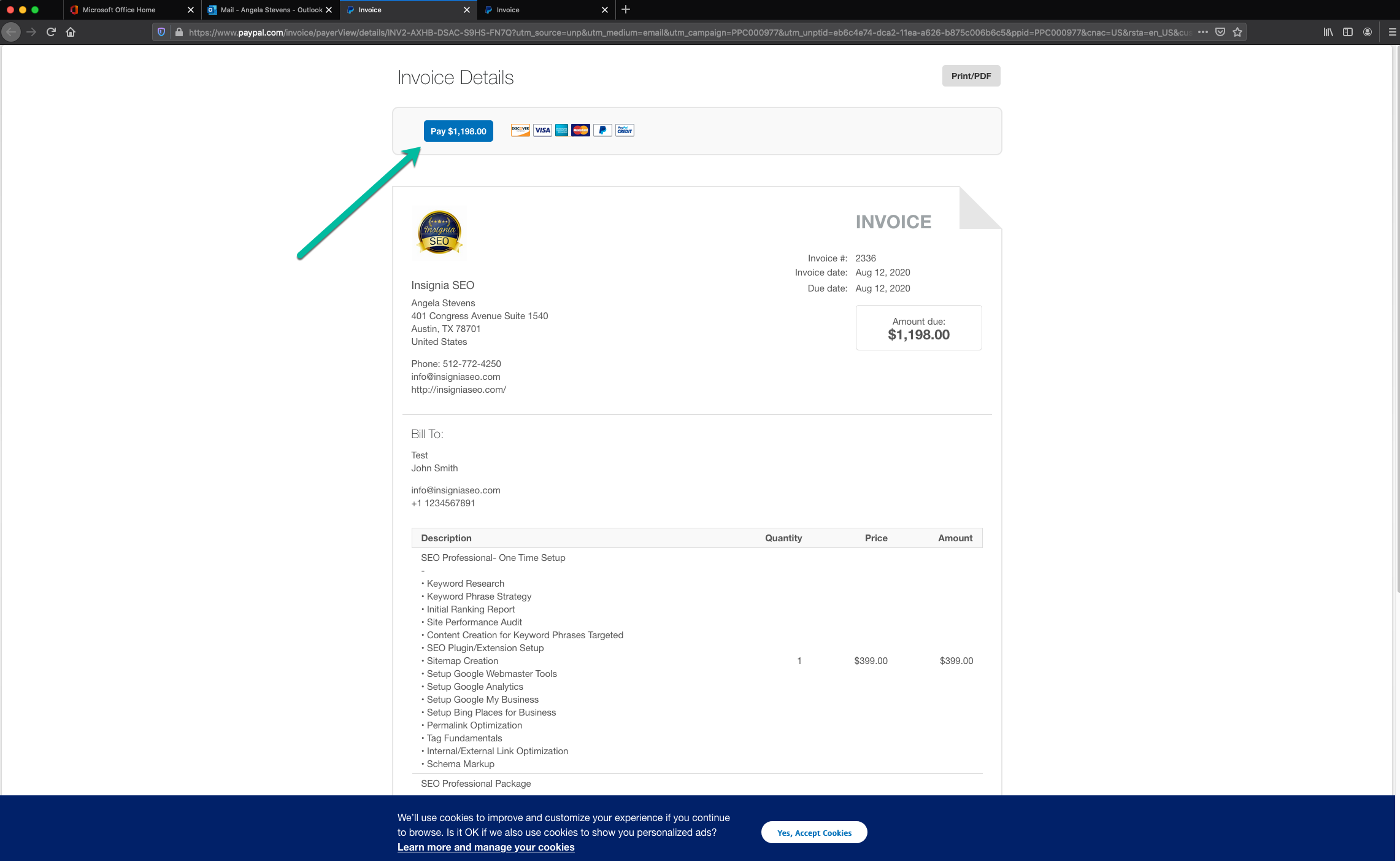 PayPal Invoice 2 - How to Pay a PayPal Invoice