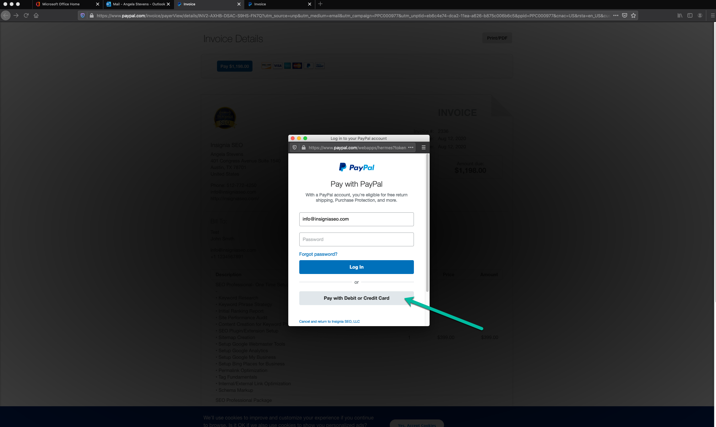 PayPal Invoice 4 - How to Pay a PayPal Invoice