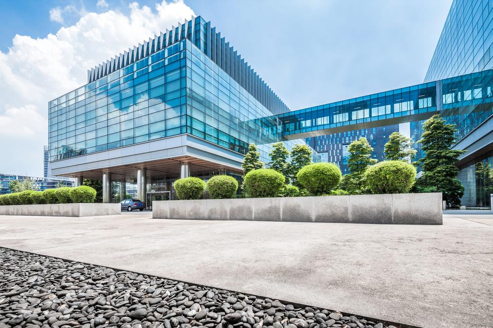 Modern Office Buildings - Social Media Solutions